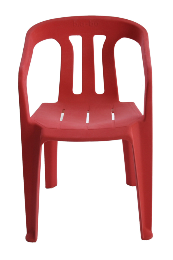 b.a-ba-red-monobloc by Cyrille Candas