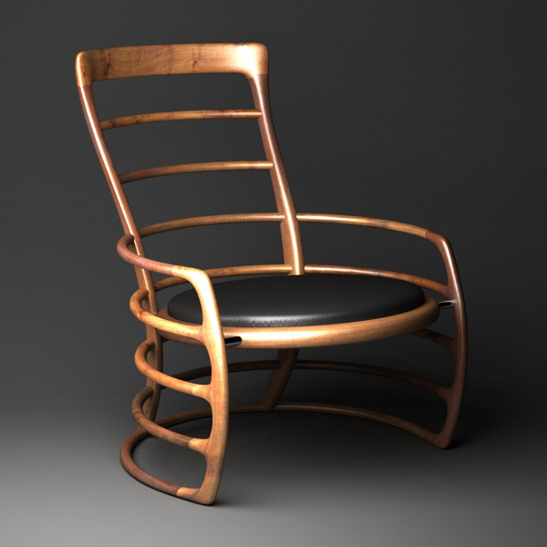 Chair 11 or Hoopla Chair by Scott Morison